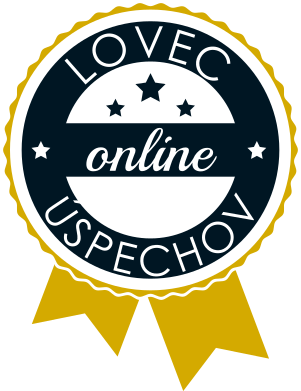 Lovec online úspechov